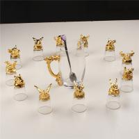 Zodiac White Wine Dispenser Set Small Enamel Crystal Glass Gift Set