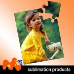 Sublimation Blanks Suede Photo Jigsaw Puzzle With Paper Material Color Optional