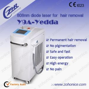 China 808nm Diode Laser Hair Removal Machine 808 Laser Epilator With Cooling System on sale