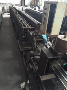 China Fully Automatically Control 18 Station Forming Air Conditioning Guide Plate Roll Forming Machine High Speed on sale