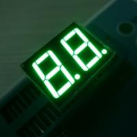 China Low Voltage 2 Digits 7 Segment LED Display Various Colours Enviromental Protection Material on sale