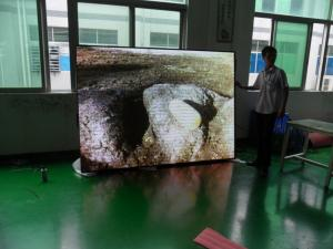 China Pitch 7.62 Full Color Indoor Led Large Video Screens for Advertising 1R1G1B on sale