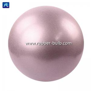 China Anti Burst 65cm PVC Yoga Fitness Ball With Quick Inflation Pump on sale