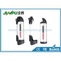 China Rechargeable Electric Bike Lithium Battery 36V / 10Ah Ack Bottle Battery Pack on sale