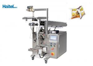 China Small Vertical Flow Wrapper , Industrial Puff Packing Machine Stable Performance on sale