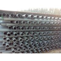 China supply high quality plastic pipe PVC-U Water Supply Pipe Standard UK/US/Japan/ISO/GB on sale
