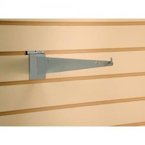 "China Shop 4"", 5"" Metal bracket Display Shelving accessories for slatwall system on sale"