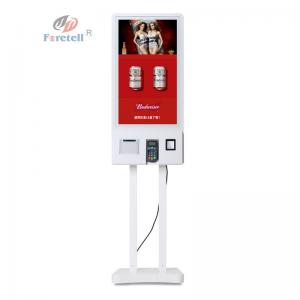 China 32 Inch Fast Food Ordering Payment Self Service Kiosk Machine For Restaurant on sale