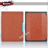 China Magnetic Ultra Slim Kobo Ereader Leather Case Sleeve With Hard Back Shell on sale