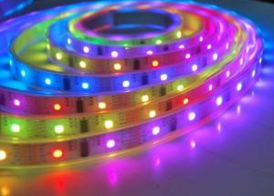 China Customized Flexible LED Strip Lights RGBW Full Color Smart Voice control on sale