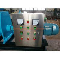 CE Solid Liquid Separation Machine , Cow Dung Dewatering Screw Press Machine