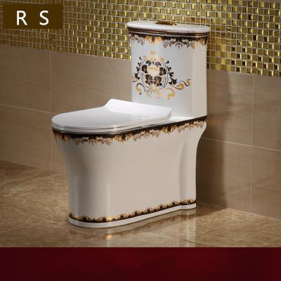 Floor mounted china factory supplier bathroom project luxury ceramic ...