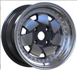 customized 15 inch multi spoke rims 4 holes colorful car alloy wheels