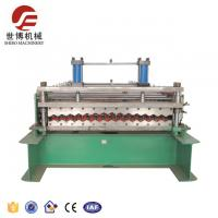 China 1096mm Corrugated Sheet Roll Forming Machine , Glazed Tile Roll Forming Machine on sale