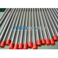 ASTM A269 / A213 / A312 Seamless Stainless Steel Tube Polished Outside 400 # 320 # , ISO 9001 Hydraulic Tubing
