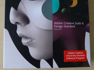 China Adobe Creative Suite 6 Design Standard Student and Teacher Edition for Windows & MAC , Adobe CS6 Production on sale