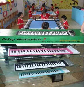 China 61 keys roll up piano on sale