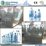 7500kg Weight Water Rotary Filling Machine 3000 Bottles Per Hour Pure