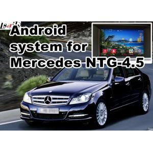 China Mercedes benz C class GPS Auto Navigation Systems mirror link 480*800 Android 4.4 on sale