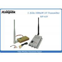 China Professional Cofdm Hd Video Transmitter With 1500mW , 2KM Transmit Distance on sale