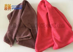 China 30cmX30cm Microfiber Towels For Glass Cleaning / Auto Drying / Car Wash on sale
