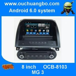 China Ouchuangbo car multi media dvd android 6.0 for MG 3 with iPhone and Android phone connect to car radio on sale