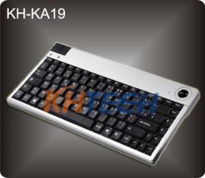 China Mini Desk Keyboard with integrated Trackball on sale