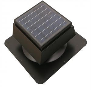 China 15w Solar Attic Fan Solar Roof Ventilator high profile 900CFM on sale