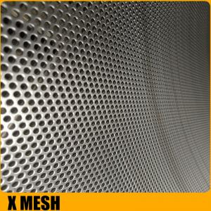 China 0.1mm-2.5mm oval hole perforated metal sheet slot for Mid East on sale