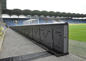 China P10 Full Color Stadium Outdoor Advertising LED Display Stadium Perimeter LED Display on sale