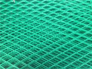 China Anti Glare Expanded Metal Mesh Rust Prevention Anti Dazzle Fencing For Highway on sale