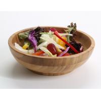 Horizontal consolidation vietnam bamboo fiber salad bowl set