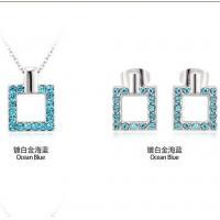 China 2014 Jewelry set made with Swarovski elements TJ0082 on sale