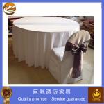Cubiertas baratas de la tabla y de la silla del restaurante del poliéster