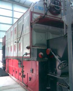 China Electric Condensing Oil Fired Steam Boiler For Radiant Heat , Low Pressure 0.7 Mpa on sale
