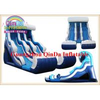 cheap wholesale inflatable slip and slide pool