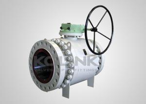 China Full-port Trunnion Ball Valve Full-bore Fire-safe Anti-static Blowout Proof Stem on sale