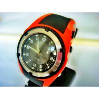 China Gents round sporty Mens Analog Watches with EL light 100m water resistant model SD on sale
