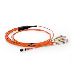 China Durable Fiber Optic Accessories Multimode MTP Fiber Cable 3.0mm UPC Polish Finish on sale