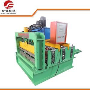 China PPGI Curving Roofing Sheet Crimping Machine , Hydraulic Sheet Bending Machine on sale