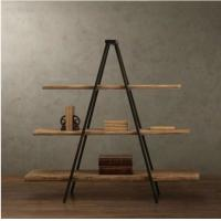 China American Style Country Furniture Free Standing Display Rack Showing Stand DX-K153 on sale
