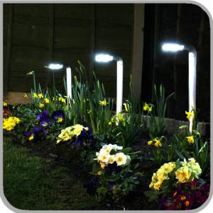 China new develop stainless steel outdoor Automatic led solar garden light decorative led light on sale
