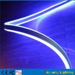 Couleur au néon double face de bleu du ruban 24v de bande de neonflex de la taille LED de la lumière 8*18mm de câble mini