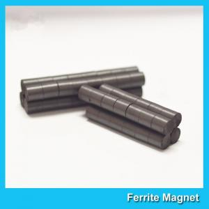 China 8*3mm Round Ferrite Bar Magnets for Screen Door Bulletin Boards Refrigerators on sale
