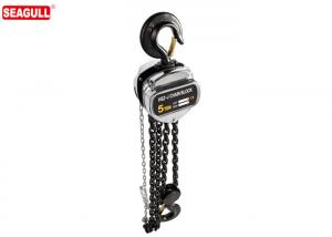 China Heavy Duty Long Lift Manual Chain Block Hand Chain Hoist 5 Ton With G80 Load Chain on sale