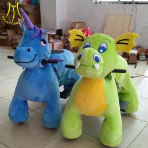 China Hansel 2019 new design children park items animal toy dinosaur riding on sale