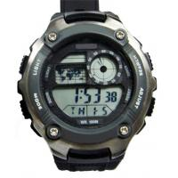 Men Battery Operated Sport Wrist Watches With Hourly Chime