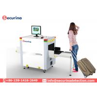 Security X Ray Detection Equipment , X Ray Airport Scanner 500mm×300mm Tunnel Size