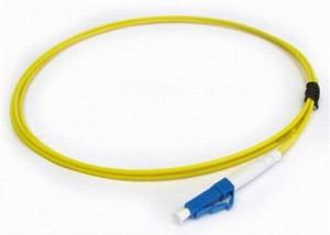 China Premise installations Low insertion loss LC Fiber Pigtail with 3.0mm fiber cable on sale