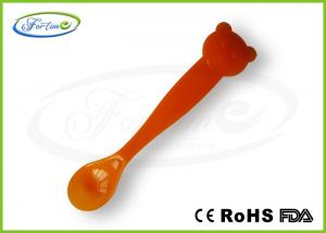 China Anti-scald PP Plastic BPA Free Heat Color Changing Spoons for Baby Feeding on sale